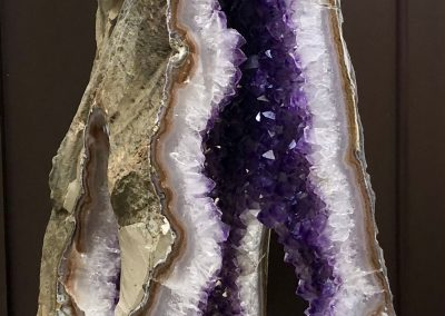 Mineral - Amethyst triangle